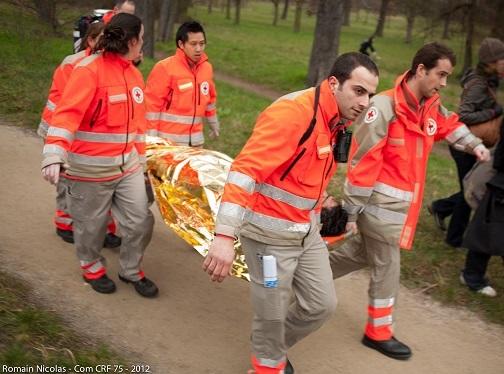 La Croix-Rouge à Parménie
