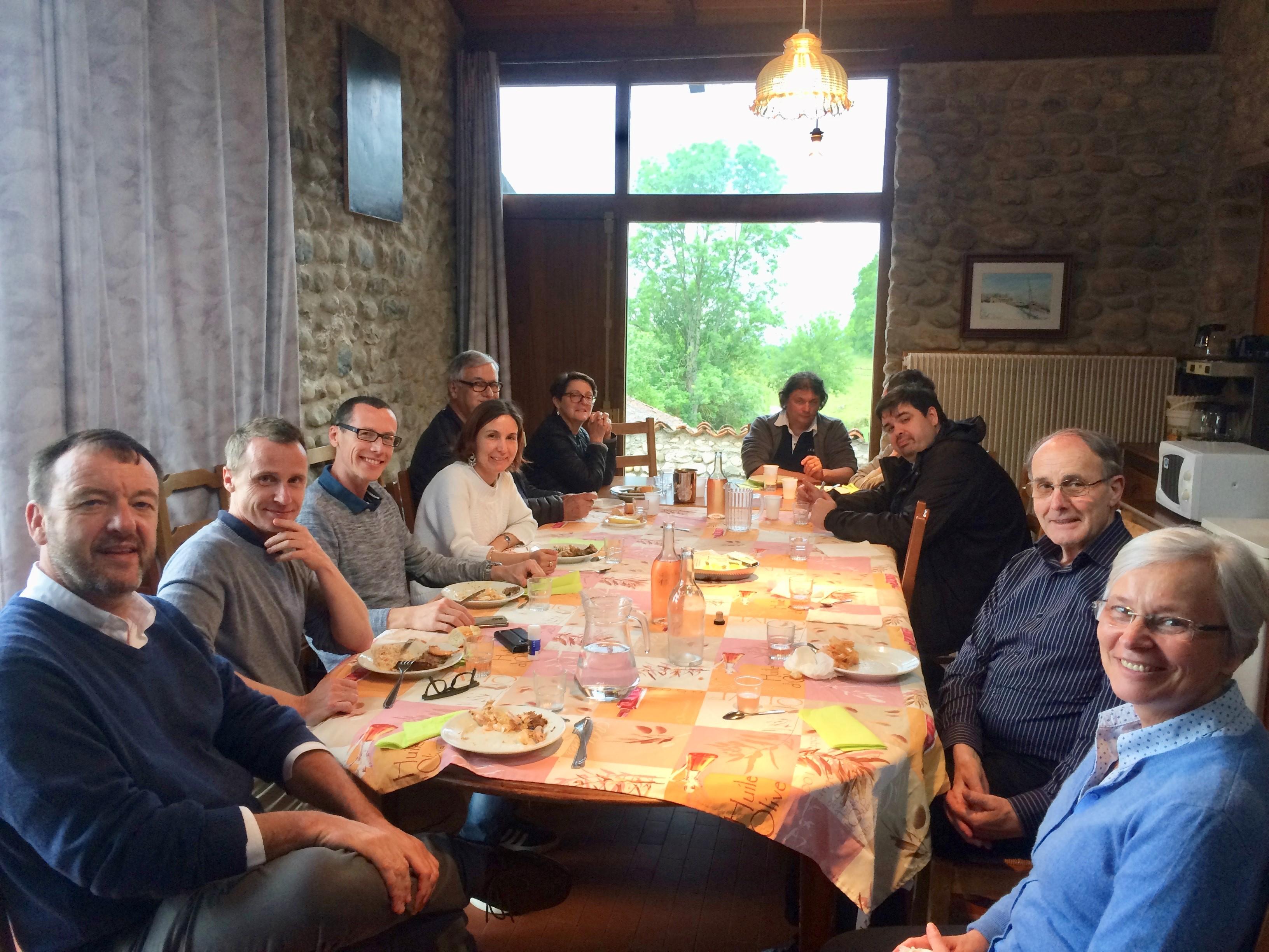 Parménie, journée de la délégation Centre-Est