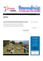 NEWSLETTER AVRIL 2016