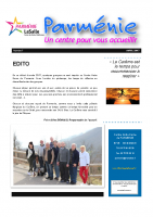 NEWSLETTER PARMENIE AVRIL 2017