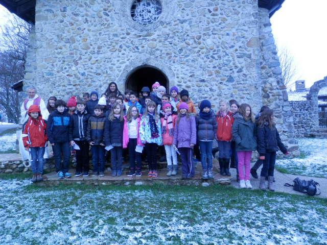 Les enfants de la paroisse de Saint-Michel du Drac