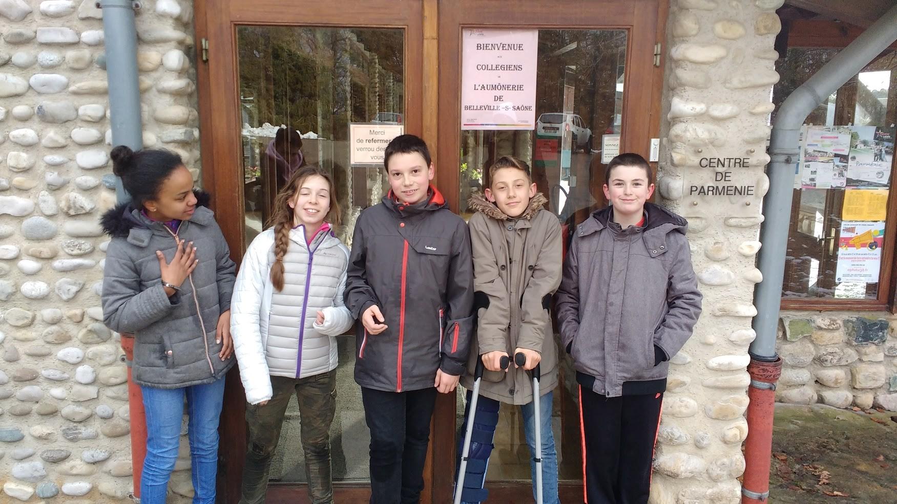 Week end aumônerie du Collège Belleville sur Saône