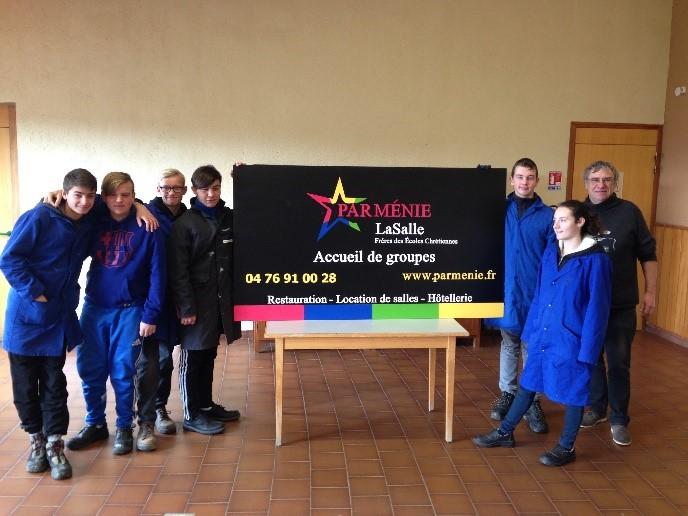Les élèves de Troisième Segpa ULIS de Saint Jean – Baptiste de La Salle de Valenciennes