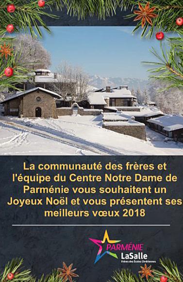 Joyeux Noël et Meilleurs Vœux 2018